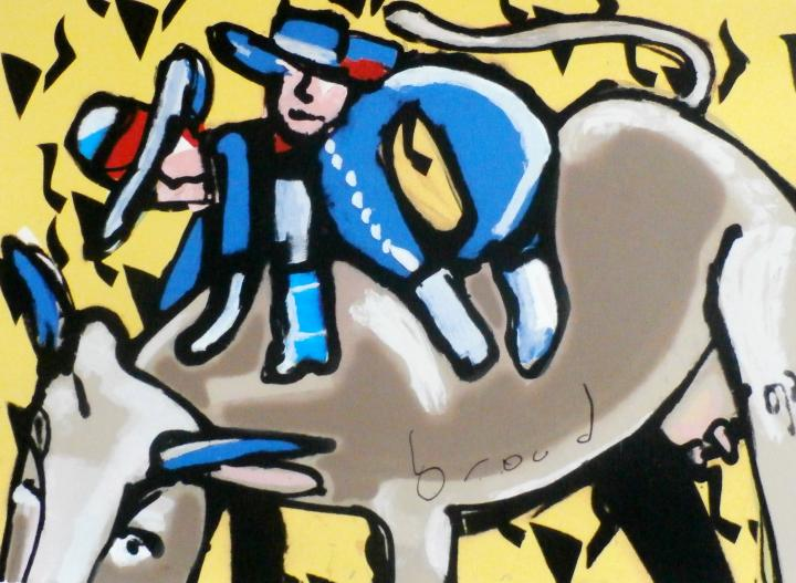 Bulls ride - Herman Brood